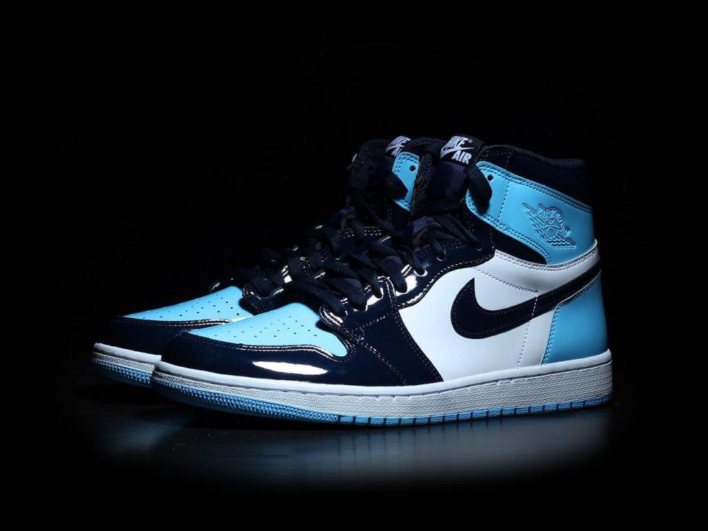 femme air jordan 1 high noir et bleu,Basket Nike Air Jordan 1 ...