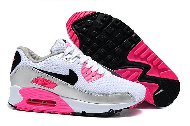 femme air max 90 premium blanche et rose,Basket Nike Soldes Air Max 90  Premium Air Max Air Max Vert